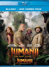 Jumanji: The Next Level DVD Cover
