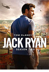 Tom Clancy's Jack Ryan (Amazon Prime Video) DVD Cover