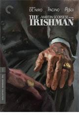 The Irishman (Netflix) DVD Cover
