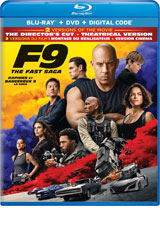 F9 DVD Cover