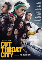 Cut Throat City DVD Cover
