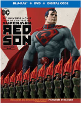 Superman: Red Son DVD Cover