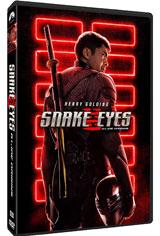 Snake Eyes: G.I. Joe Origins DVD Cover