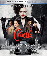 Cruella DVD Cover