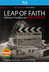Leap of Faith: William Friedkin on The Exorcist DVD Cover