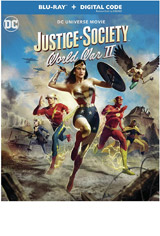 Justice Society: World War II DVD Cover