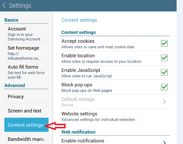 Enable Geo Location in Browser | showtimes com