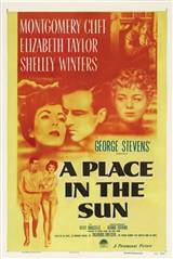 A Place in the Sun Movie Poster