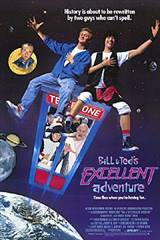 Bill & Ted's Excellent Adventure Movie Poster