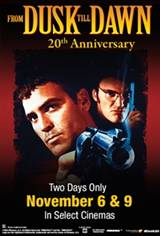 From Dusk Till Dawn 20th Anniversary Poster