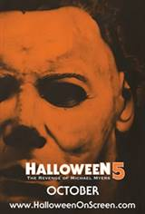 Halloween 5: The Revenge of Michael Myers - 35th Anniversary of Halloween Movie Poster