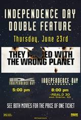 Independence Day Double Feature Movie Poster