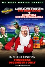 RiffTrax Holiday Special Double Feature Movie Poster
