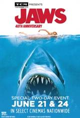 TCM Presents Jaws 40th Anniversary Movie Poster
