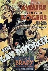 The Gay Divorcee (1934) Movie Poster