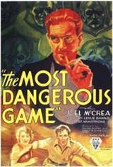 The Most Dangerous Game Movie Poster