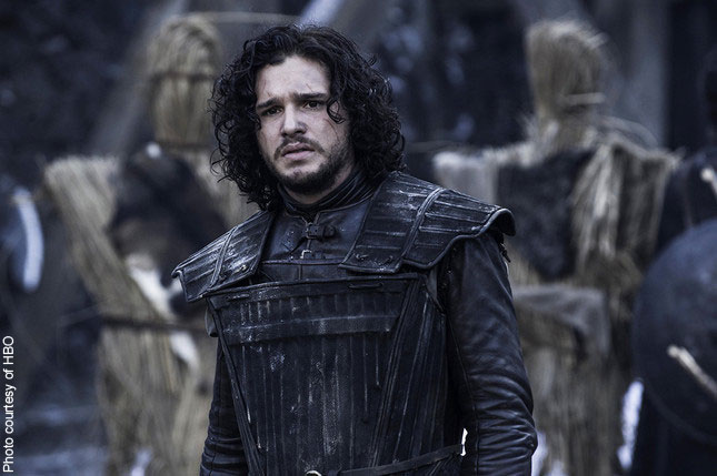 Kit Harrington in HBO's Game of Thrones