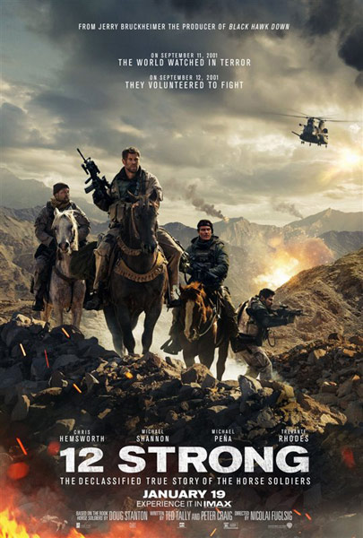 12 Strong starring Chris Hemsworth