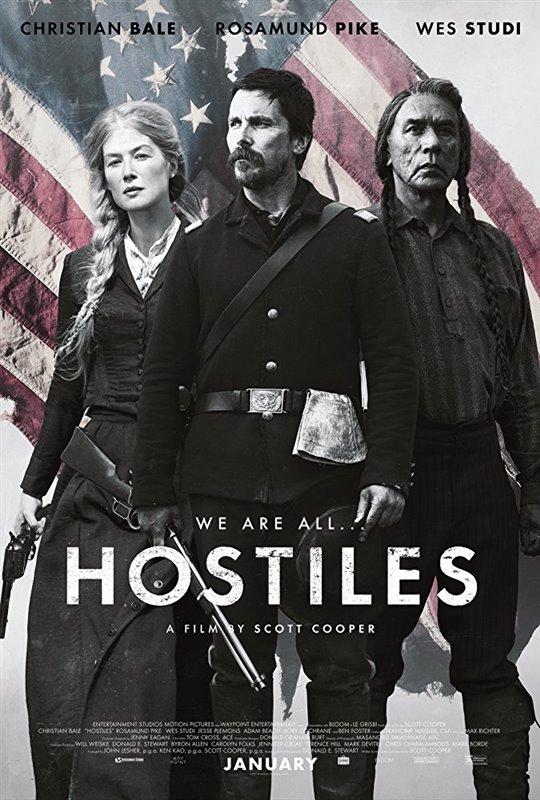 Hostiles starring Christian Bale