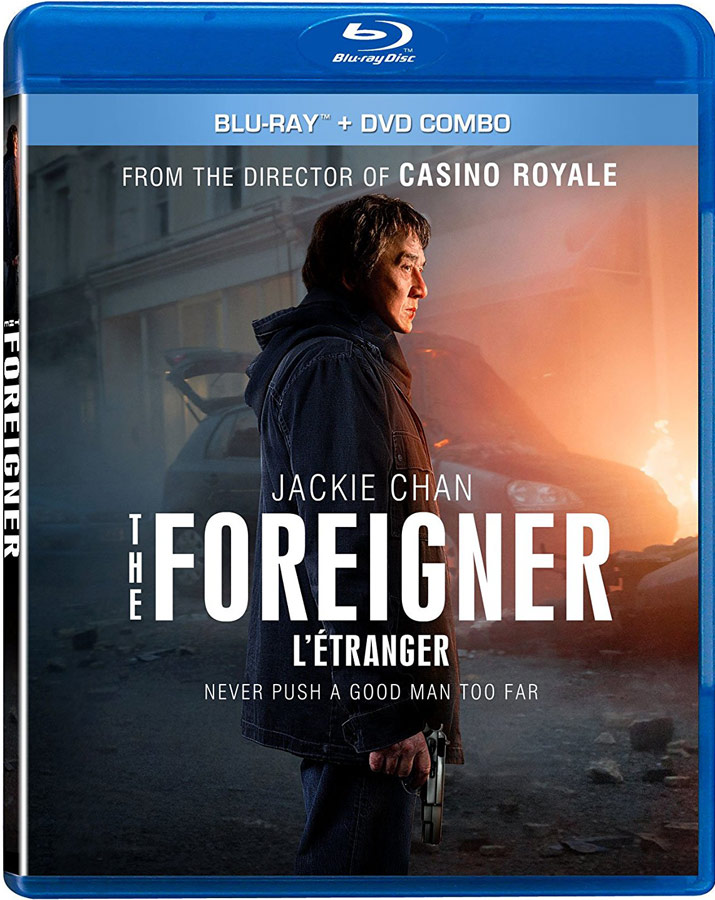 The Foreigner Blu-ray and DVD Combo