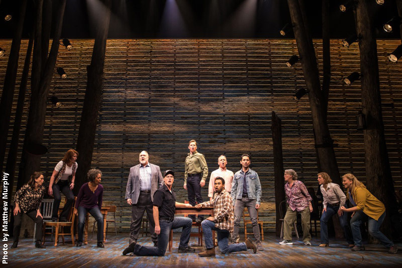 The all-new cast of Come From Away