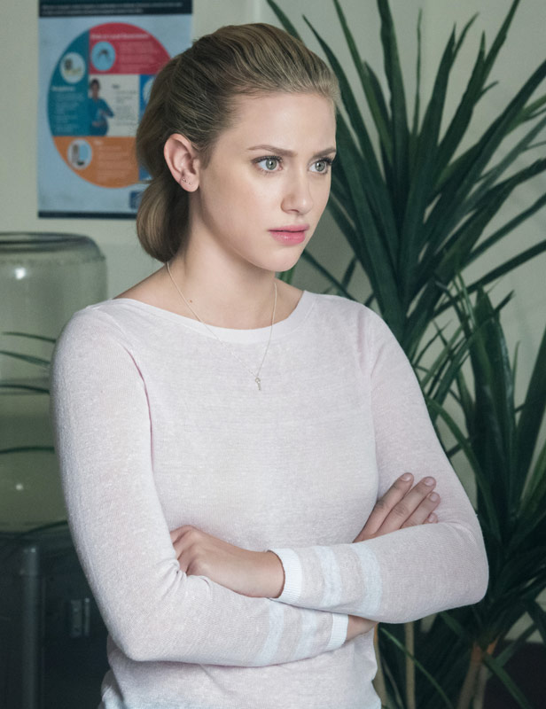 Lili Reinhart as Betty Cooper