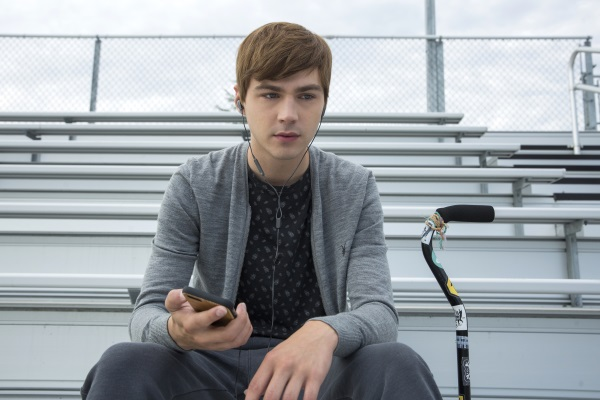 Miles Heizer in 13 Reasons Why