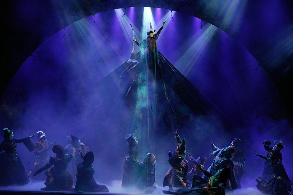 Wicked Original Broadway Company – Photo by Joan Marcus