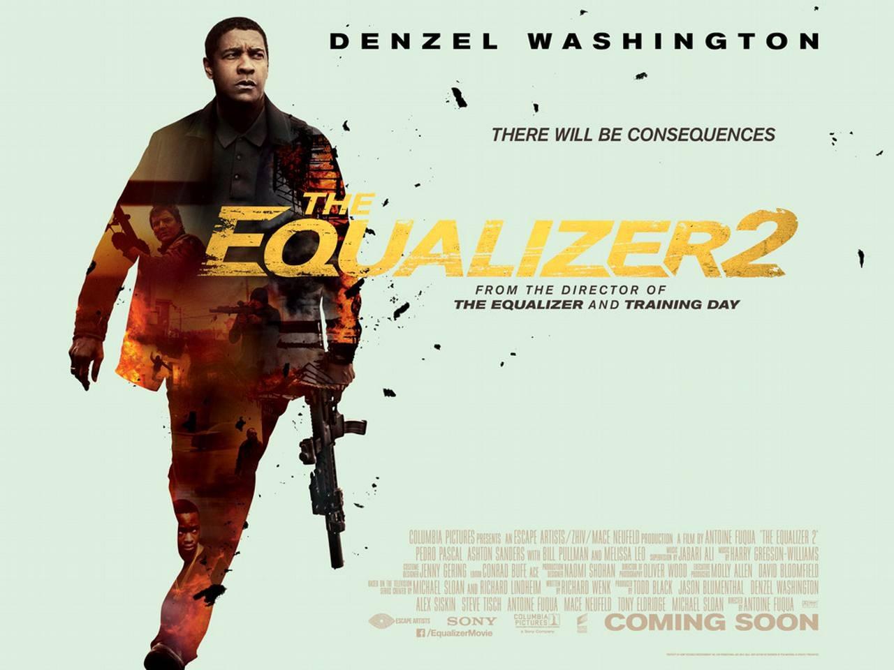 The Equalizer 2 starring Denzel Washington