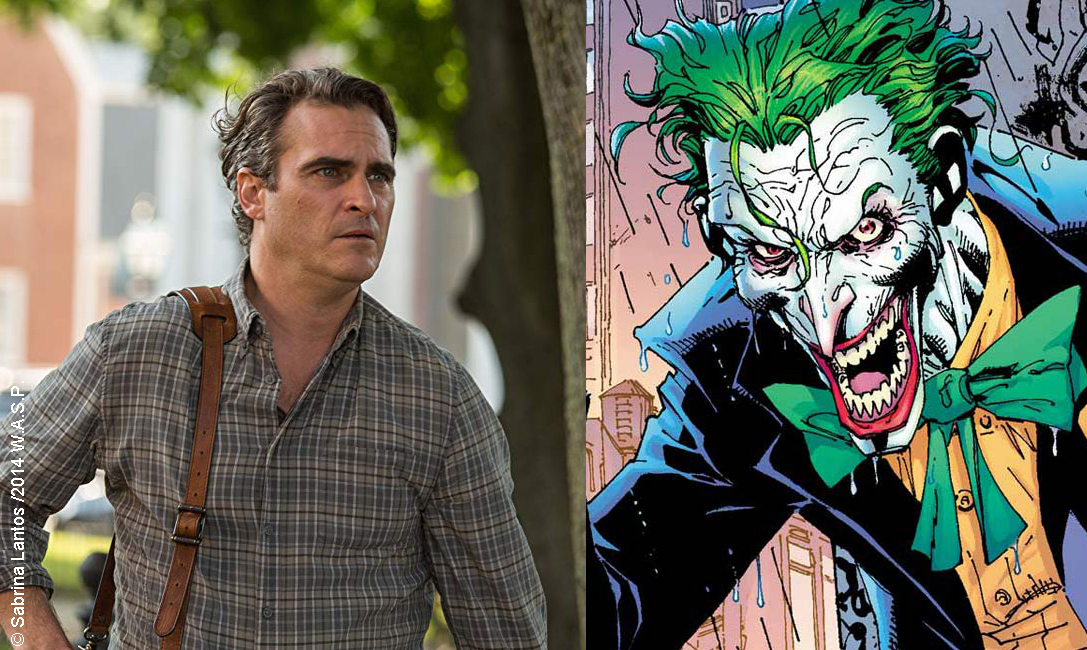 Joaquin Phoenix cast as the Joker