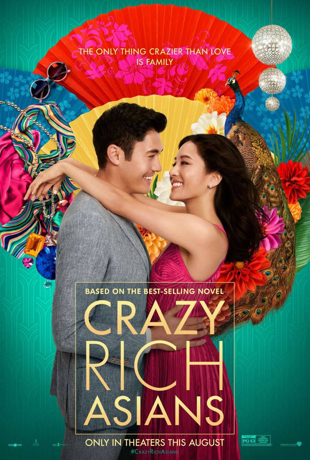 Crazy Rich Asians No. 1 at weekend box office