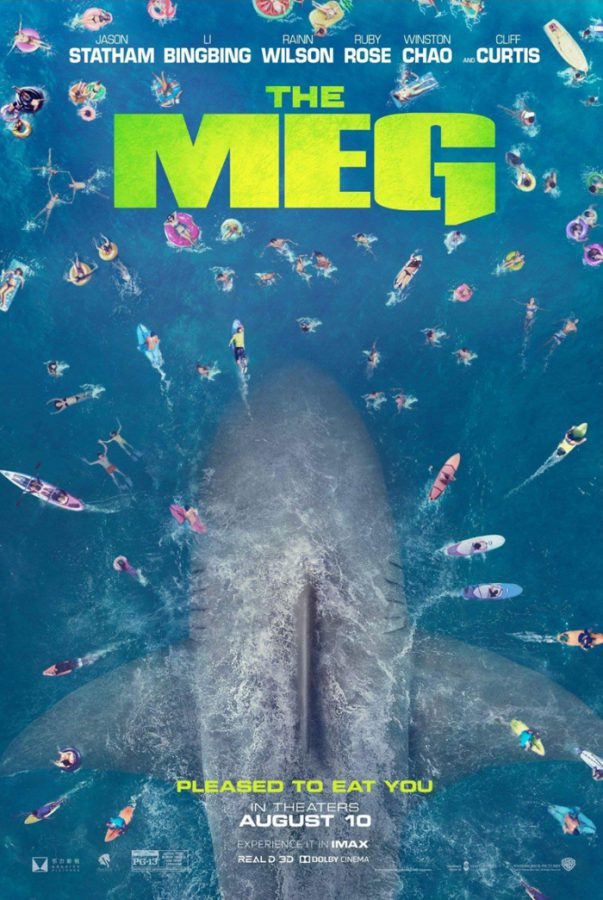 The Meg poster and trailer