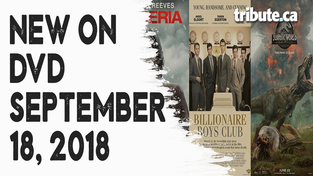 New on DVD September 18, 2018
