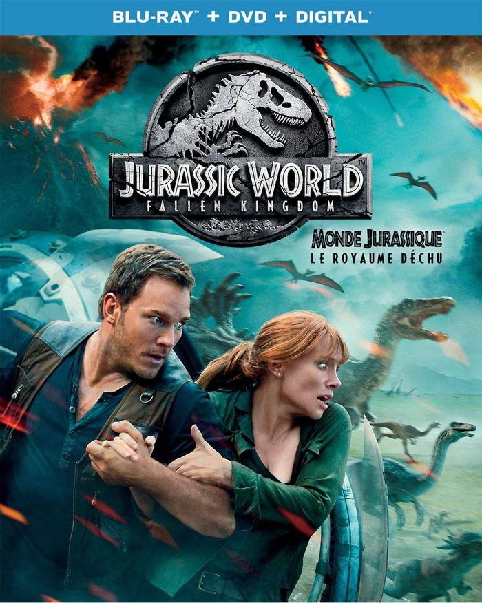 Jurassic World: Fallen Kingdom on Blu-ray