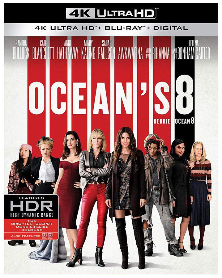 Ocean's 8 4K Ultra HD and Blu-ray