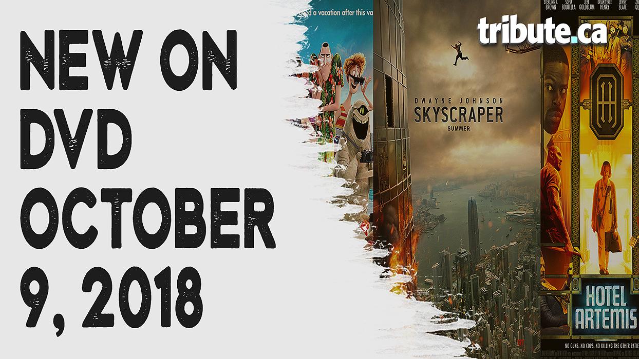 New on DVD - Skyscraper, Hotel Transylvania 3 and more