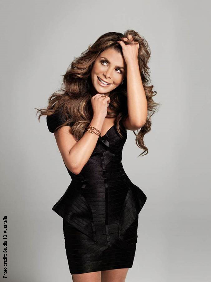 Paula Abdul. Photo: Studio 10 Australia