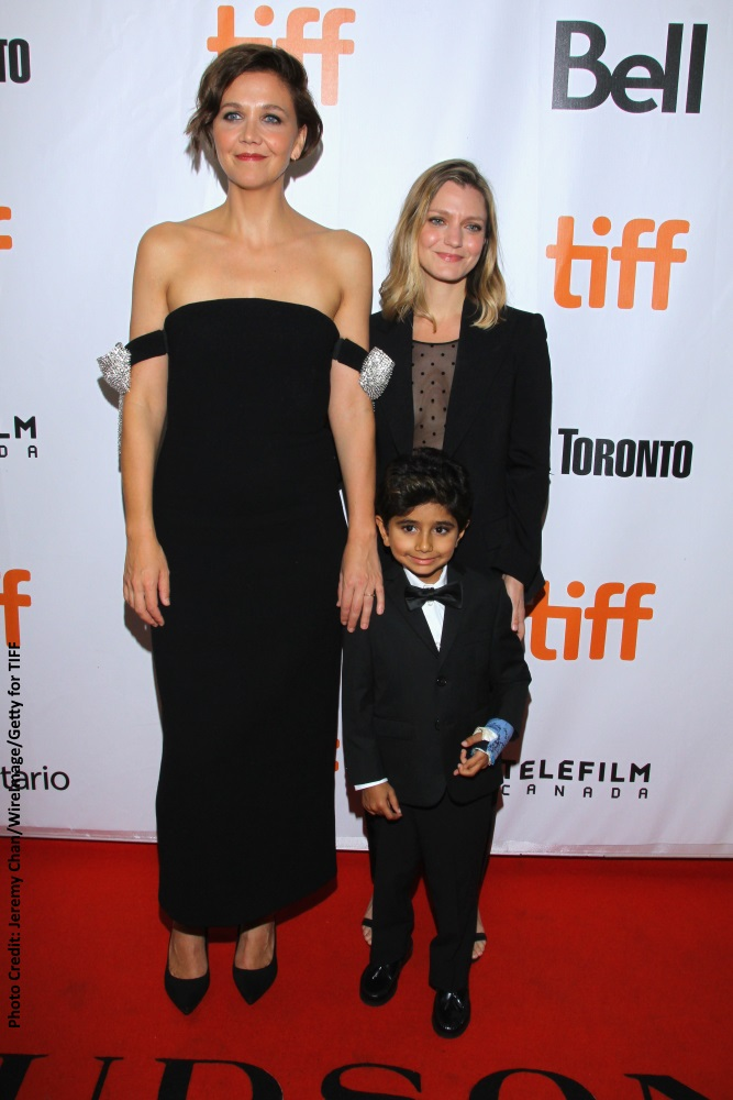 Maggie Gyllenhaal, Sara Colangelo and Peter Sevak