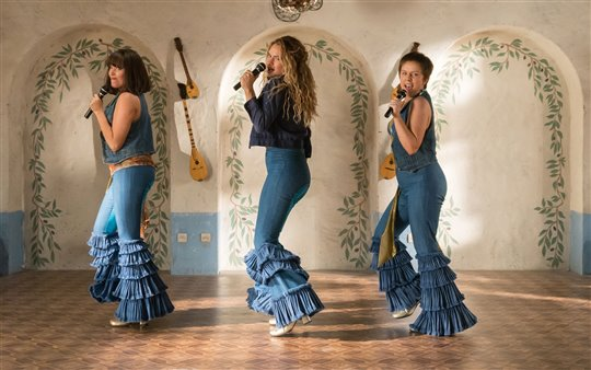 The Young Dynamos in Mamma Mia! Here We Go Again