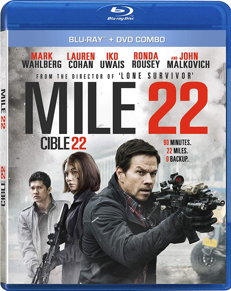 Mile 22 now on Blu-ray