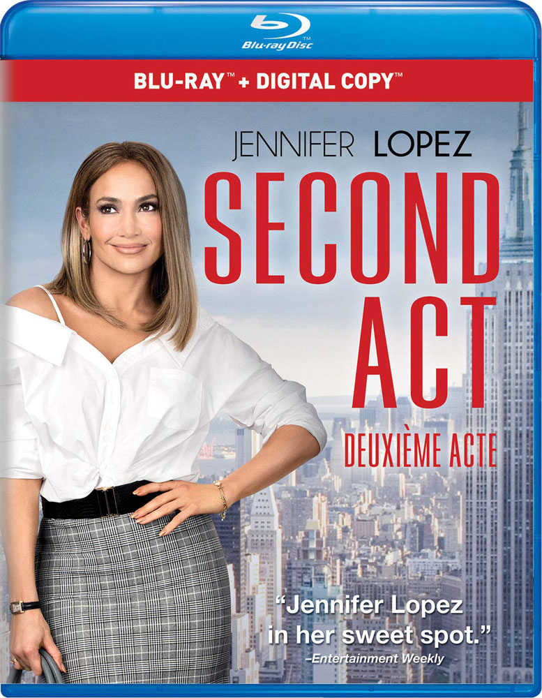 Second Act on Blu-ray