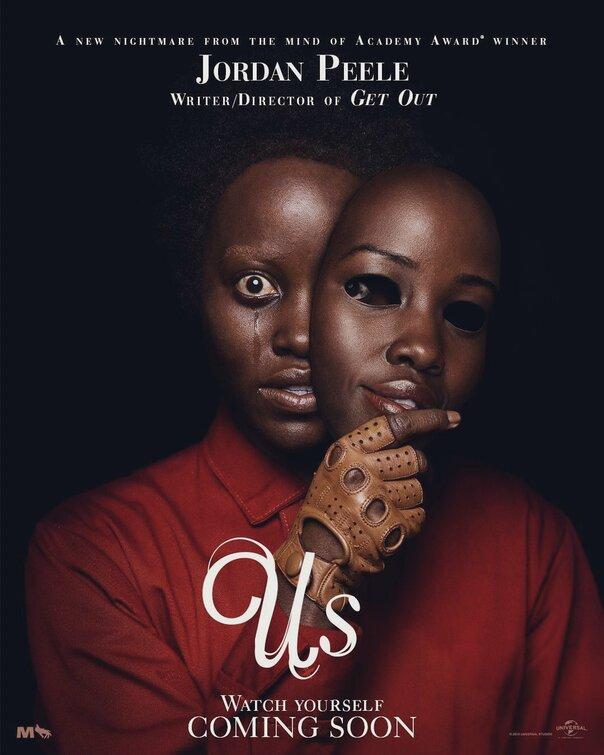 Us movie poster
