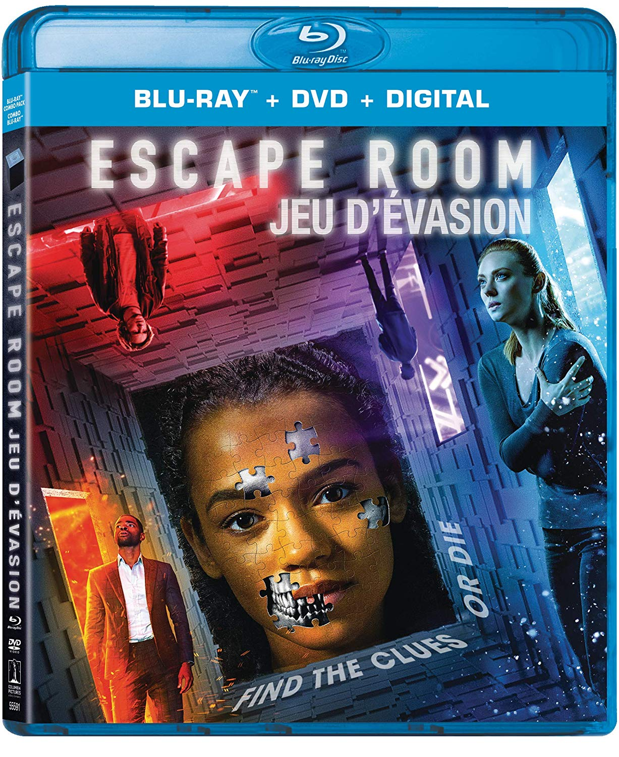 Escape Room on DVD and Blu-ray