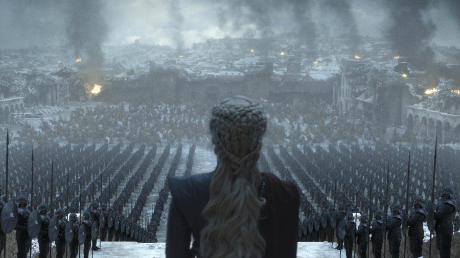 Game of Thrones starring Emilia Clark as Daenerys