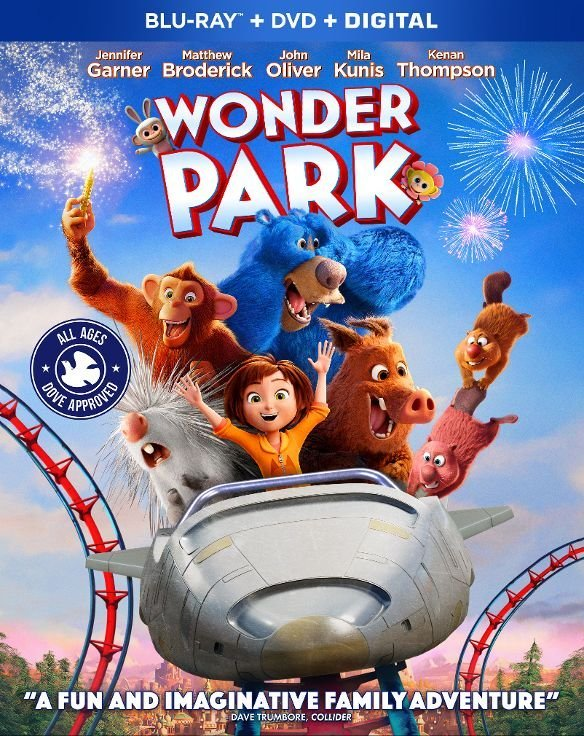 Wonder Park on Blu-ray