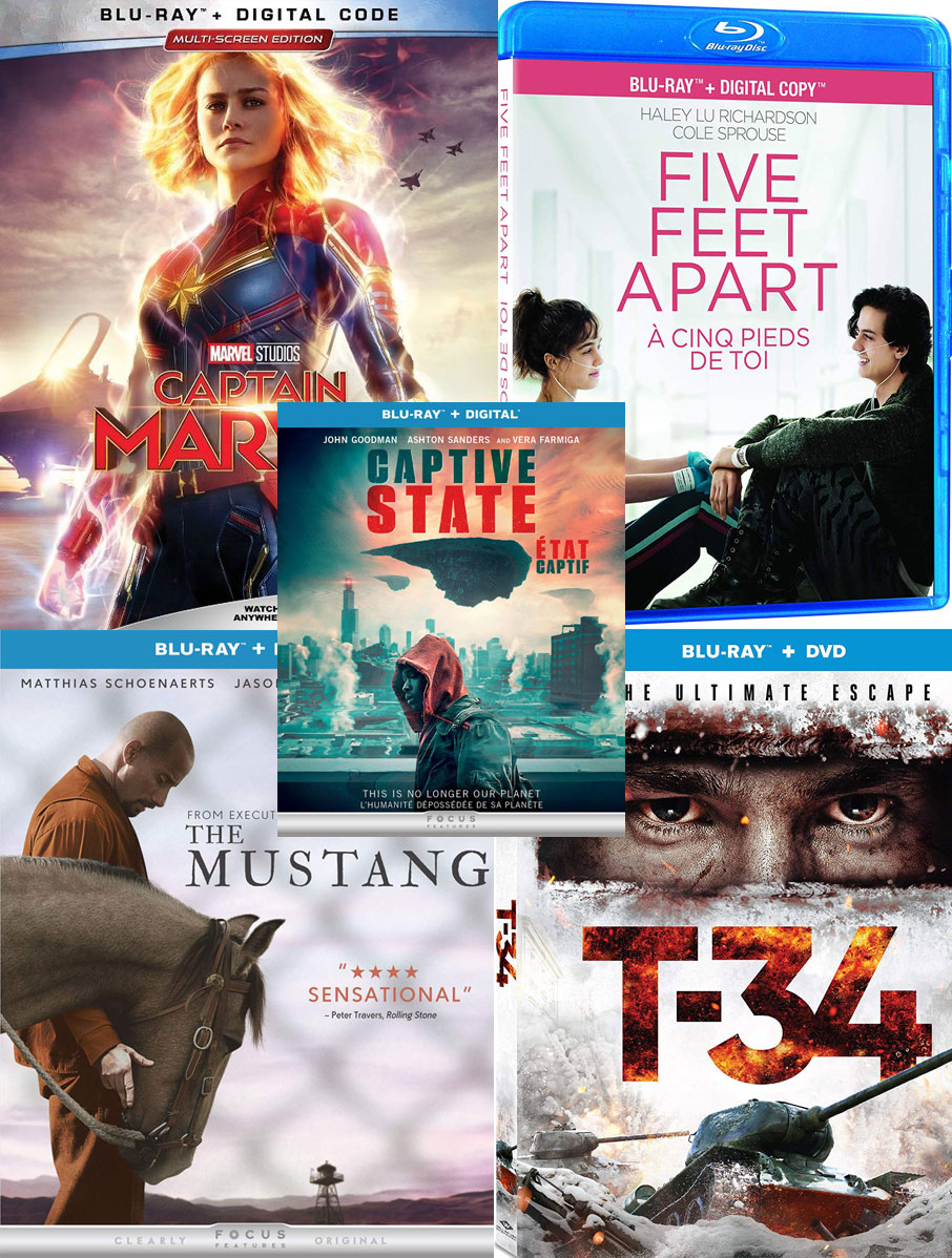 New DVDs and Blu-rays week of June 11