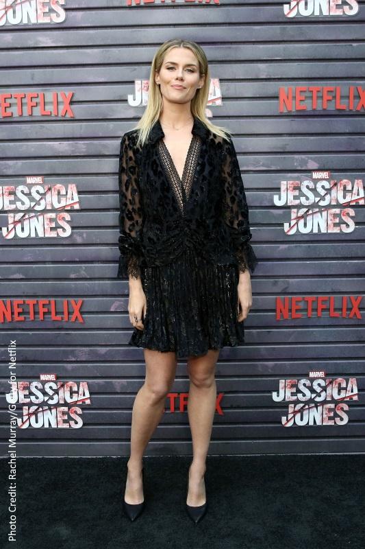 Rachael Taylor at the Jessica Jones premiere