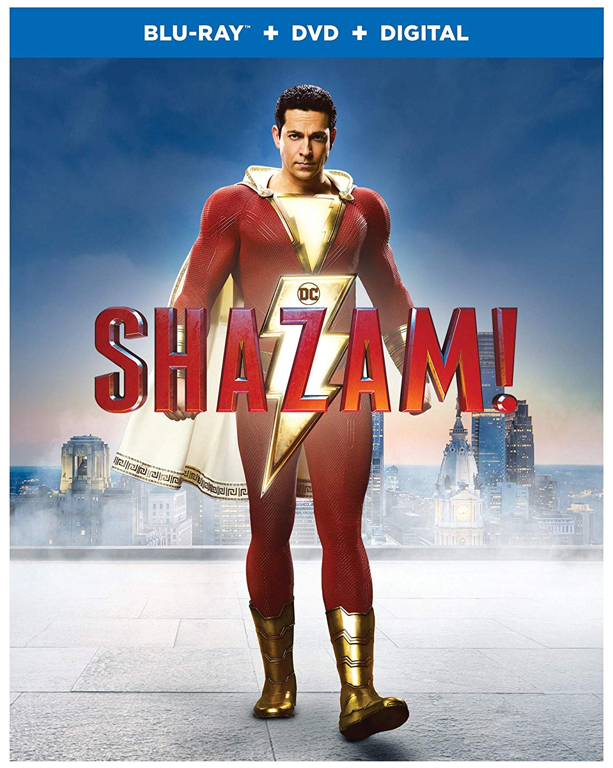 Shazam!, now available on Blu-ray and DVD