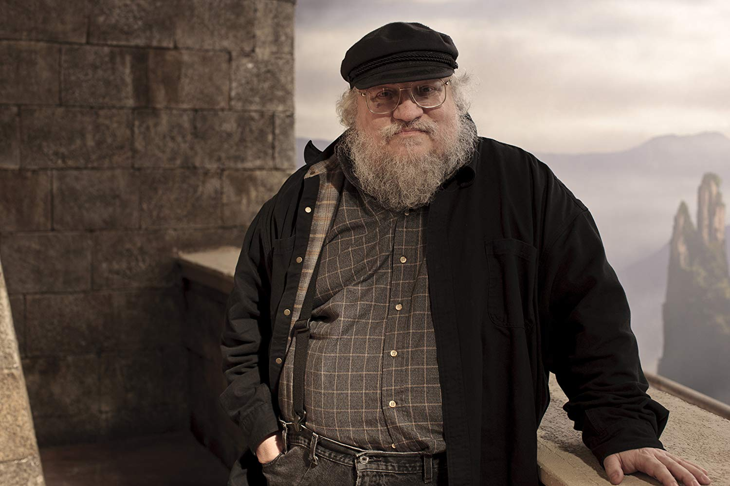 George R.R. Martin, author of the A Song of Fire and Ice book series that is the source of Game of Thrones