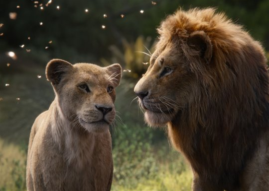 Nala and Simba in Disney's The Lion King